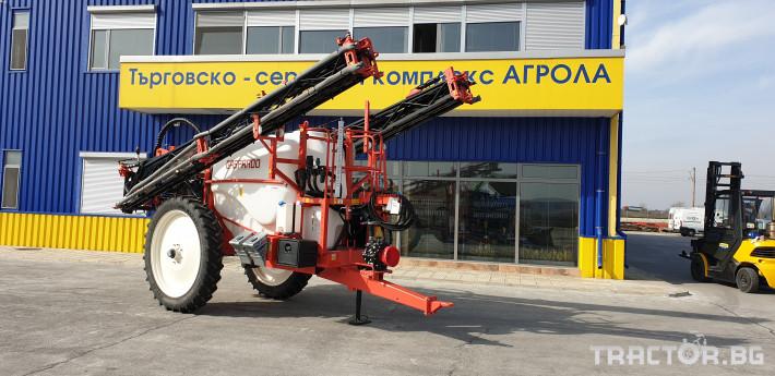Пръскачки Пръскачка GASPARDO CAMPO 32P A624 V7 R48 SECTION CONTROL 0 - Трактор БГ
