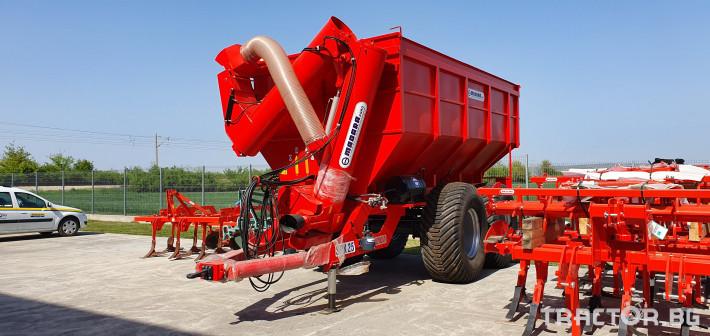 Ремаркета и цистерни Ремарке MADARA модел SPK 25 0 - Трактор БГ