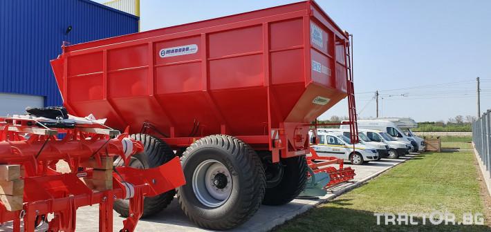 Ремаркета и цистерни Ремарке MADARA модел SPK 25 3 - Трактор БГ